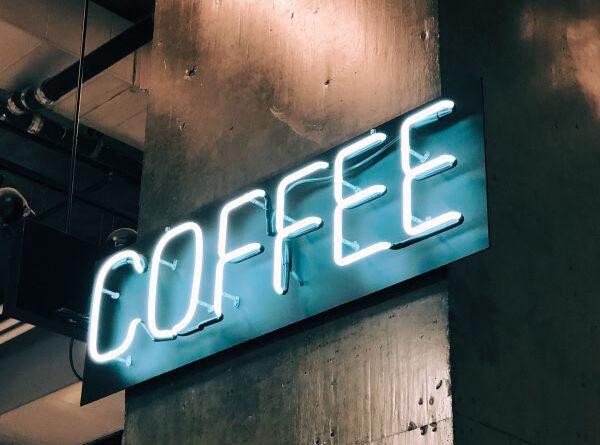 "neon ""Coffee"" sign"